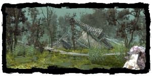 une tour effondrée