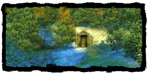 Crypte des bords du lac