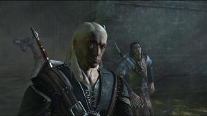 Geralt et Yaevinn dans le nid du zeugle
