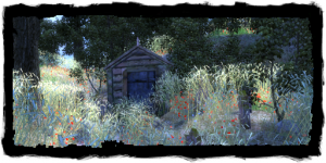 Crypte dans les champs