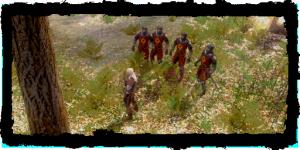 Geralt et le détachement de l'Ordre