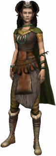 magicienne elfique