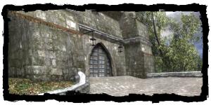 Porte du Meunier, vue des fauxbourgs