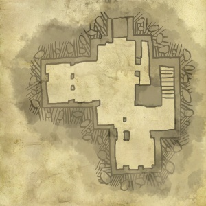 Carte du rez de chaussée
