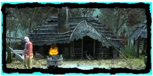 la hutte de Vaska