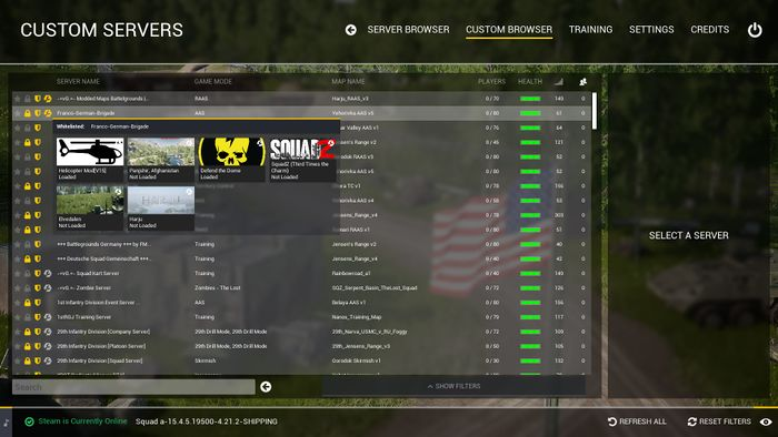 Playing a Mod - Official Squad Wiki