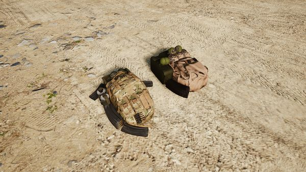 American and Russian Ammo Bags