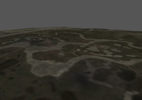 Снимок экрана карты из SDK