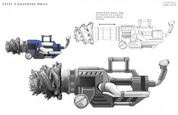 Graphene Drill Concept Art