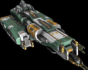 The Galtek Freighter, your exploration vessel.
