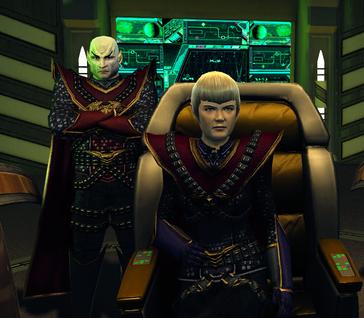 Hakeev and Sela - Romulan intro.png