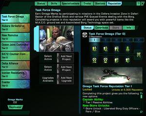 Rufsystem Romulaner Spieler