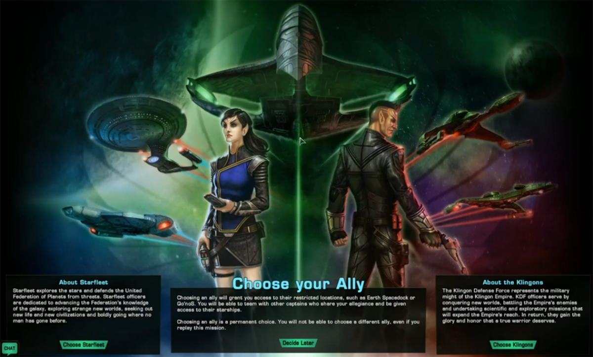 Playable faction - Official Star Trek Online Wiki