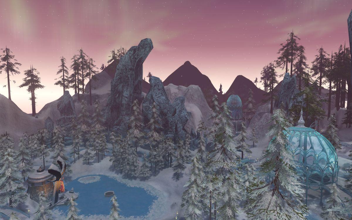 Sto Winter Event 2020 Ship.Q S Winter Wonderland Official Star Trek Online Wiki