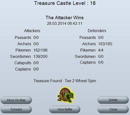 Treasure Castle good report.png
