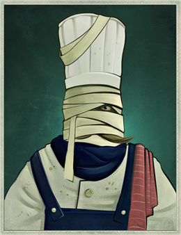 Bandaged Chef-Paramount
