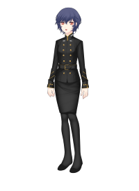As an officer and not a lowly recruit, Kryska is to wear the Cera Space forces officer uniform like Ava. How did she got it, I don't know