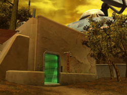 Entrance to Vexx's Safe House