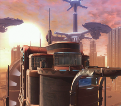 Coruscant Apartment