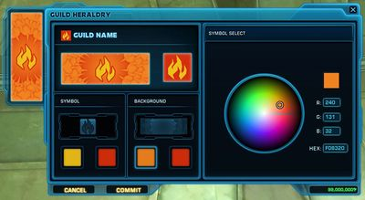 Guild Heraldry UI
