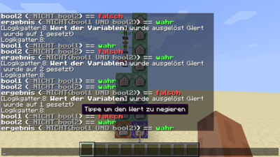 Minecraft Befehl Tag