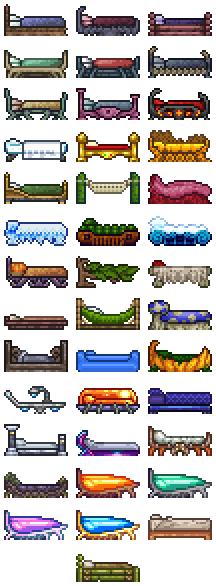 Beds The Official Terraria Wiki
