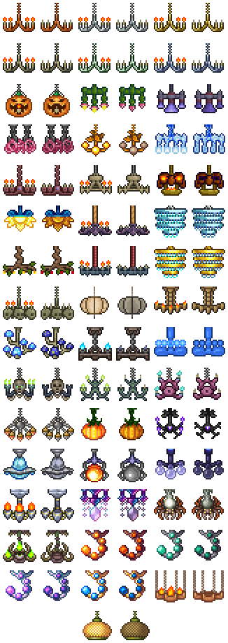 Chandeliers The Official Terraria Wiki