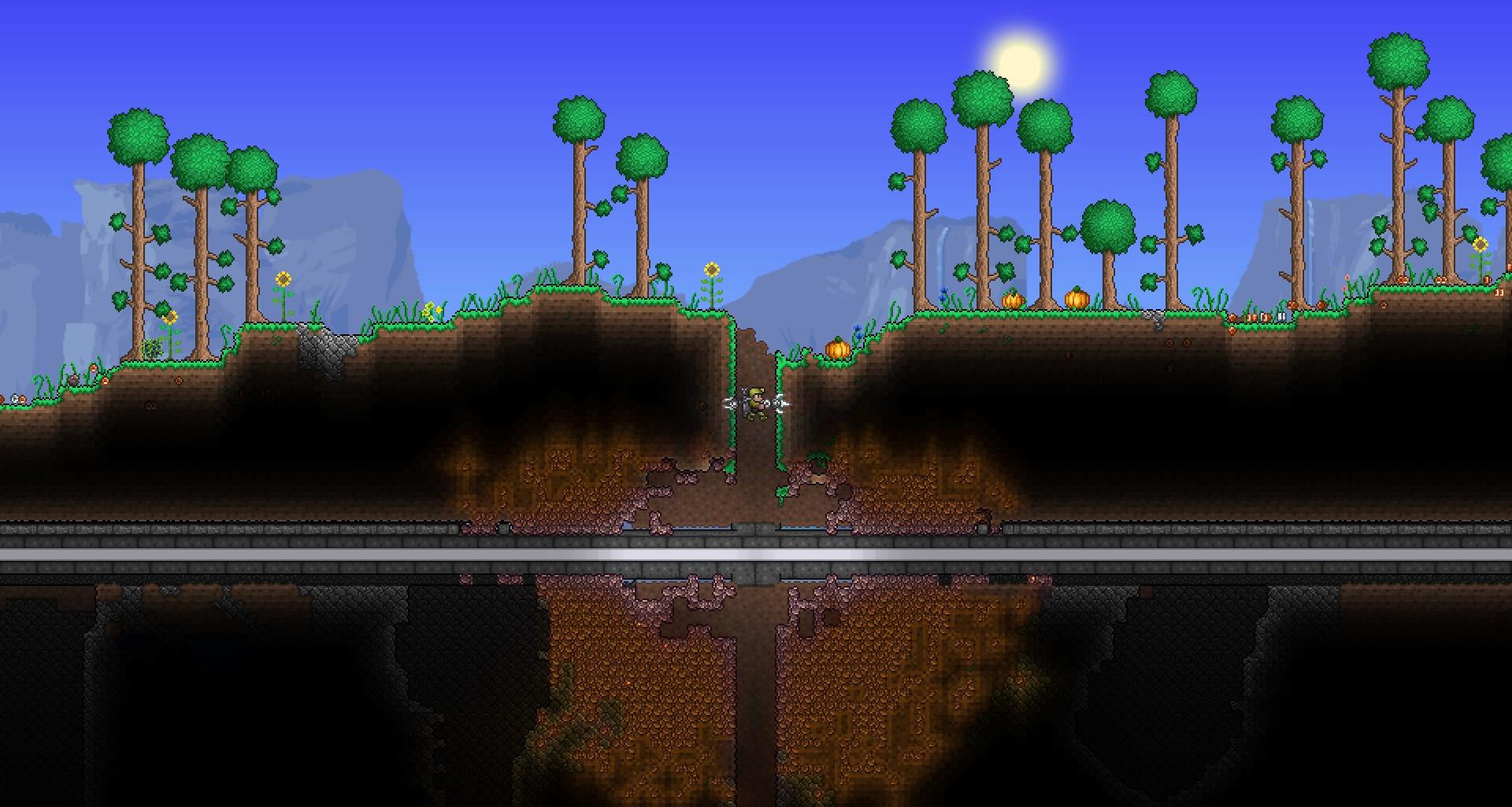 Meteorite crash underground.jpg