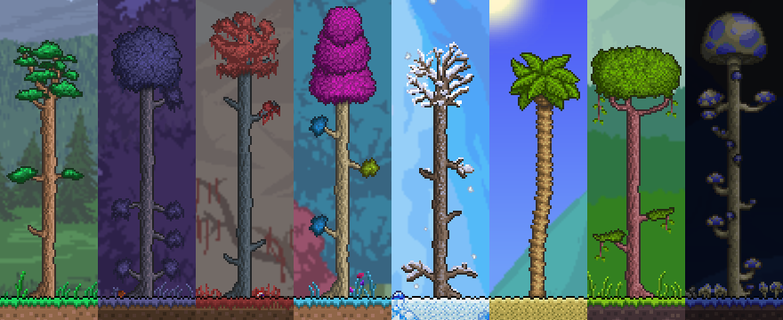 Trees The Official Terraria Wiki