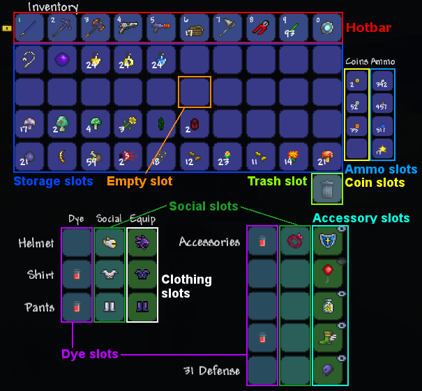 Accessories The Official Terraria Wiki