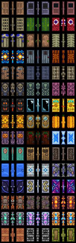 Super Doors The Official Terraria Wiki Wiring Cloud Hisredienstapotheekhoekschewaardnl