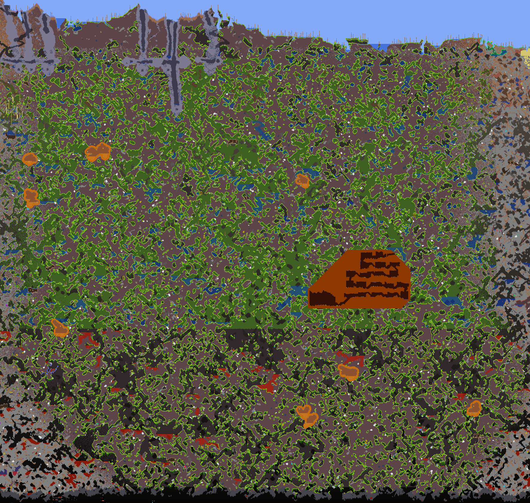 File Large World Jungle Png The Official Terraria Wiki