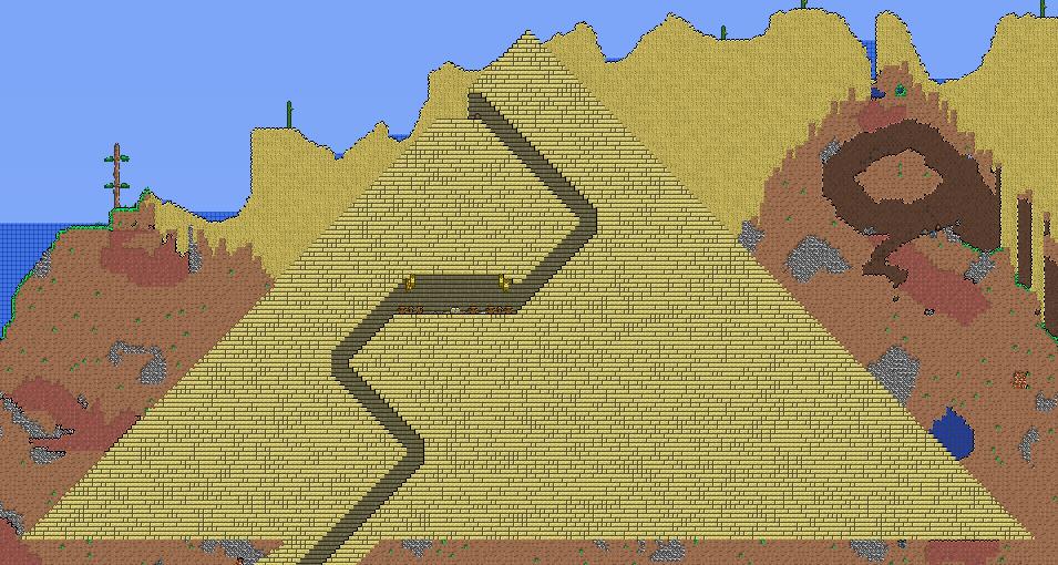 terraria maps 1.3.5