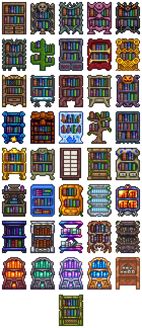 Bookcases The Official Terraria Wiki