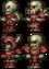 Squelette furieux