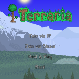Multiplayer - The Official Terraria Wiki on small terraria map, terraria everything map, doctor who terraria map, terraria castle map,