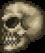 Crâne maudit géant