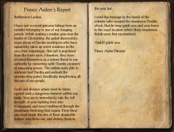 Prince Aiden's Report.png