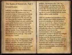 The Ruins of Kemel-Ze, Part 1 Pg1.png
