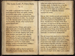 The Ivory Lord- A Hero Born, V. 1 Pg1.png