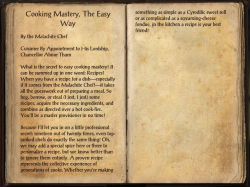 Cooking Mastery, The Easy Way.png