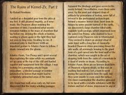 The Ruins of Kemel-Ze, Part 2 Pg1.png