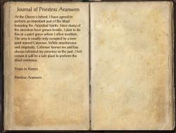 Journal of Priestess Aranwen.png