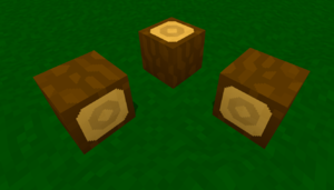 The 3 directions that wood can face