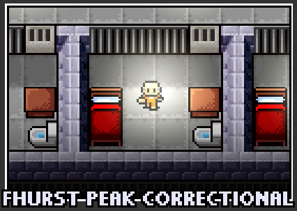The prison selection screen for Fhurst Peak Correctional