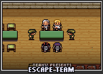 The prison selection screen for Escape Team