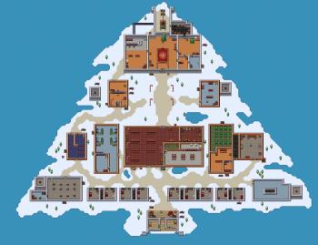 Santa's Sweatshop Map
