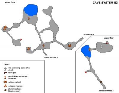 The Forest Karte Höhlen.Höhle 3 Offizielles Deutsches The Forest Wiki