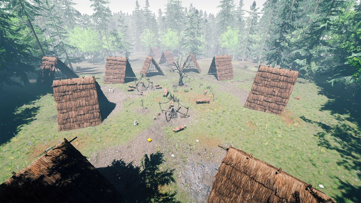 Main Village Official The Forest Wiki