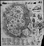 Map - Official The Forest Wiki The Forest Game Map on